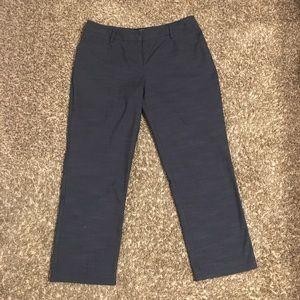 APT 9 Navy Capri pants. (Modern Fit)
